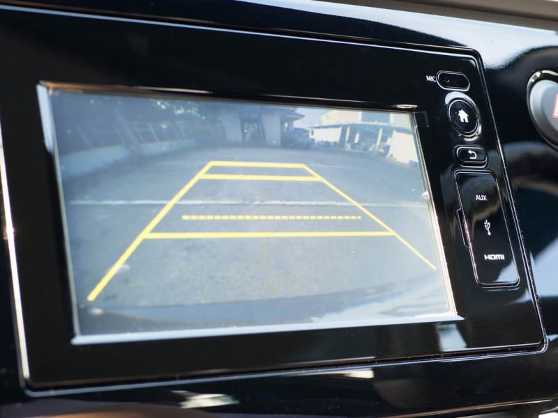 Front and Rear Cameras